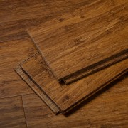 Brushed Amber Stiletto Strand Bamboo Flooring