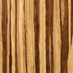 PlybooStrand bamboo plywood wall installation in Neopolitan® color