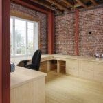 plywood flat grain natural loft