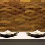studio woven palm panel
